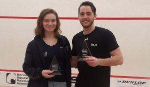 Bermuda Open : Stefanoni and Sachvie succeed
