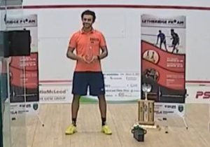Lethbridge Pro-Am : It's ElSherbini