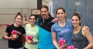 A day in Women's squash, by Peter Häcki