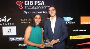 PSA Awards : Farag and El Welily take triple honours in Cairo