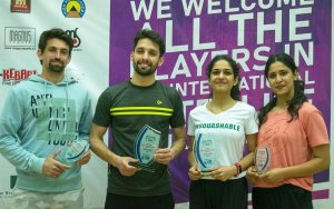 Pakistan Satellite #1 : Nasir and Faiza triumph
