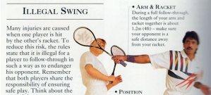 Dangerous Swing…