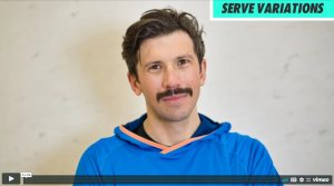 Serve variations with Jethro Binns