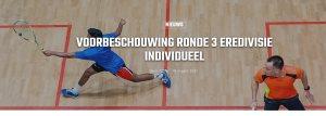 Squash Eredivisie Round 3 Amsterdam
