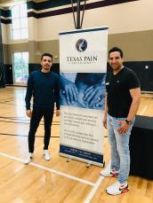 Tournament Promoter Jahanzeb Masood & Tournament Director Tahir Khan