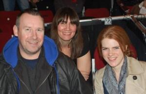 Claudia Shurmann, Paul Miller, Chris Gregory