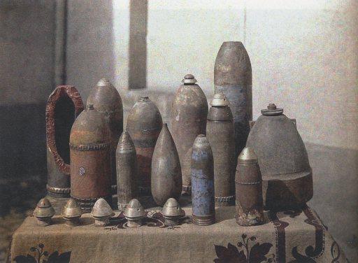 UnexplodedGermanShells,Reims,1917
