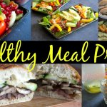 Healthy Meal Prep for Breakfast, Lunch and Snack