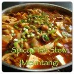 Spicy Fish Stew Maeuntang 매운탕
