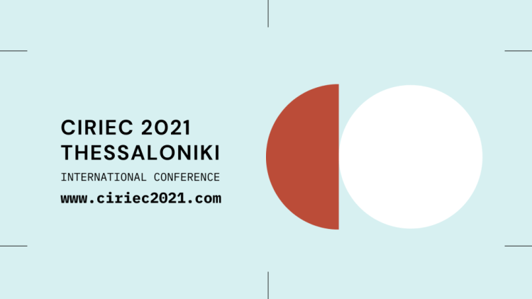 CIRIEC 2021 THESSALONIKI