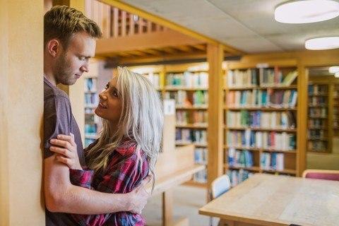 Sex Between Library Stacks