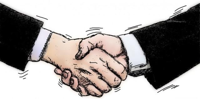 proper handshake