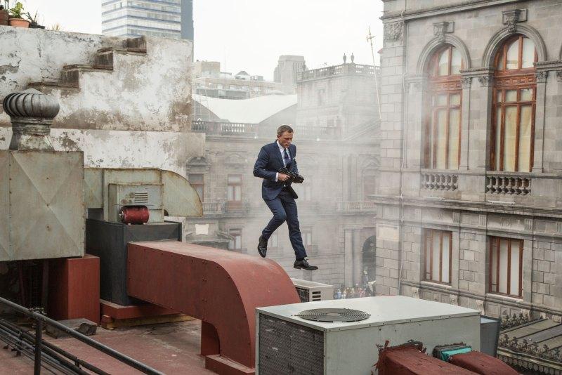 Photos de tournage du dernier James Bond au Mexique.