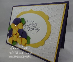 Pansies With Love and Sympathy