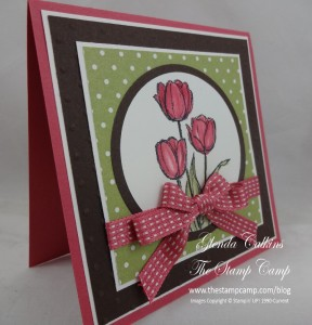 Blessed Easter Stampin' Up! Double Bow