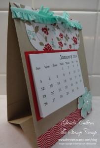 Desk Calendar Side