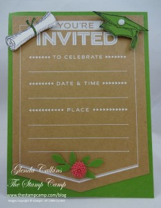 Michigan State Graduation Invitation