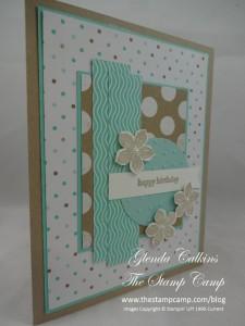Stampin' UP! Petite Petals Fresh Prints