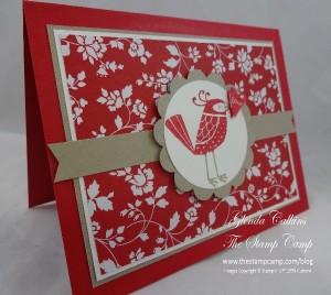 Stampin' Up! Love You More Bird