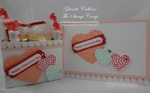 Sweet Sayings Valentine Box and Card