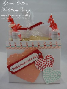 Sweet Sayings Valentine Treat Box