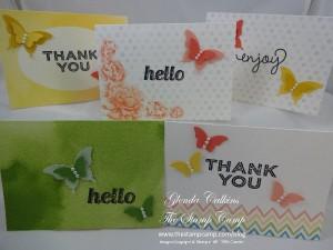 Watercolor Wonder Designer Note Cards & Envelopes