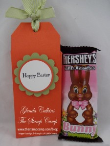 Chocolate Bunny with Holder
