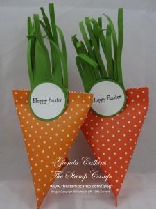 Sour Cream Treat Holder Carrot
