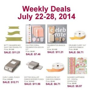 Weekly Deals July 22 28