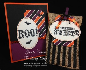 Card and Treat bag My Paper Pumpkin Stampin' Up!