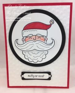 Santa Stache Stampin' UP!