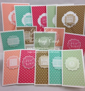 InColor Tag Talk Stamp Set of the Month