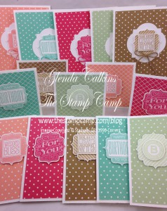 Tag Talk Stamp Set of the Month