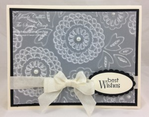 Vellum lovely lace