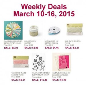 March 10 Weekly Deals