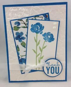 Bonus Card #1 Painted Petals