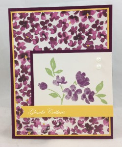 Bonus Card #3 Painted Petals