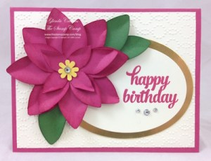 Stampin' Up! Festive Flower Builder Punch
