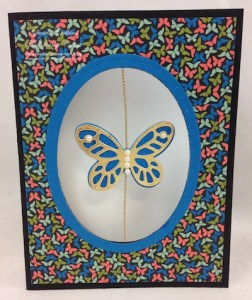 Floating Butterfly Card