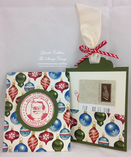 Merry Moments Gift Card Holder