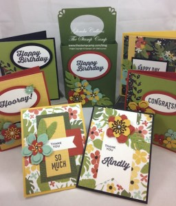 Botanical Blooms Featured Stamp Set for January!