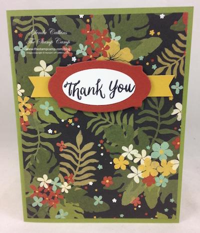 Botanical Gardens DSP Thank you