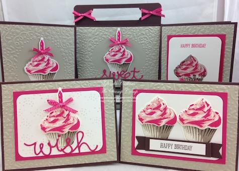 Sweet Cupcake Pink Grouping