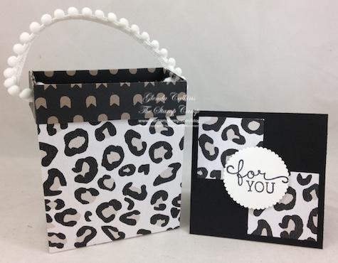 Leapard Mini Gift Bag