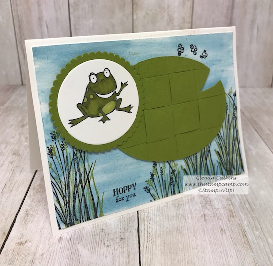 So Hoppy Together and the Home to Roost Sale-a-bration stamp set pair very well together.  Each is free with a min. $50.00 order.  details on my blog: www.thestampcamp.com #stampinup #saleabration #thestampcamp #cards