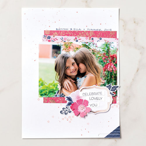 This is a different type Kit from Stampin' Up! You can create boxes, bags, cards or scrapbook pages using this kit. Details on my blog: www.thestampcamp.com #cardkit, #stampinup #thestampcamp