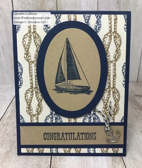 The Come Sail Away Suite from Stampin' Up! has so many fun coordinating products in the suite for creating cards, projects, and scrapbook pages. Details on my blog: https://wp.me/p59VWq-a9p . #stampinup #masculine #thestampcamp #stamps
