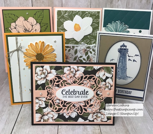 Weekly Card Giveaway.... Winner! Is it You? Every Sunday on my blog I announce the winner of the cards for the week. See the blog post here: https://wp.me/p59VWq-aaJ for the details. #stampinup #thestampcamp #weeklycardgiveaway