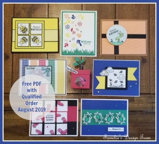 August Customer Appreciation PDF file is All About The Bugs With The Wiggle Worm Bundle from Stampin' Up! Details on my blog: https://thestampcamp.com/all-about-the-bugs-with-the-wiggle-worm-bundle/ #stampinup #bugs #thestampcamp
