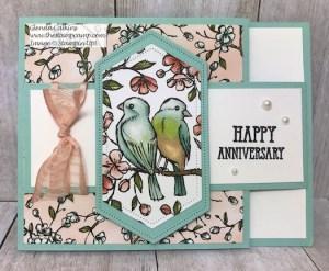 Bird Ballad Swing Arm Fun Fold Card